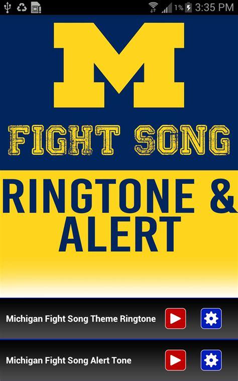 themes with ringtone amazon com michigan fight song theme ringtone appstore