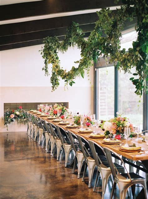 Tropical Floral Inspired Spring Dallas Wedding   Greenery