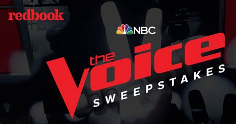 The Voice Sweepstakes - redbook magazine the voice season 14 finale sweepstakes