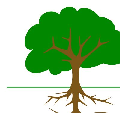 Nice Christmas Tree Roots #5: Plant-with-roots-clipart-ncEdBB7cA.svg