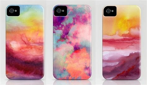 Phone Cases M A K b soup diy watercolor iphone