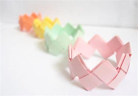 Origami Bracelets - diy origami bracelet crafts