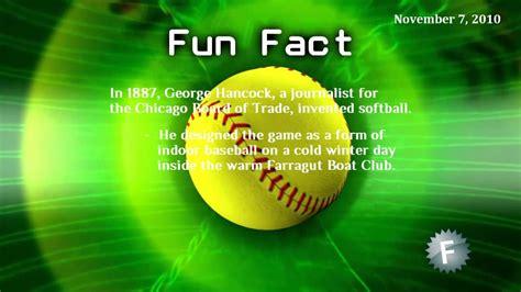 fun fact softball youtube