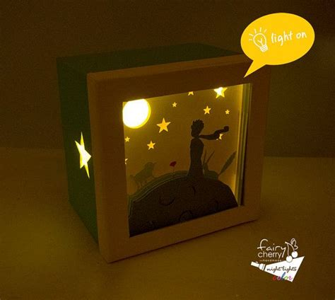 The Little Prince Night Light Nursery Decor Unique The Prince Nursery Decor