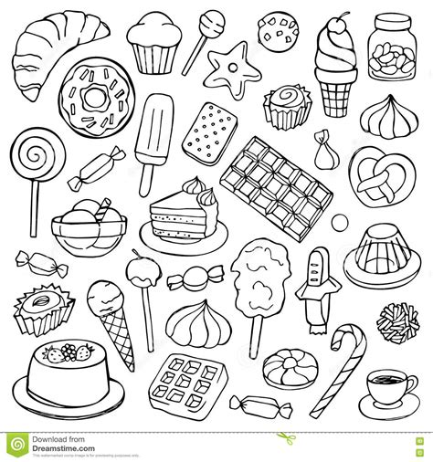 how to use doodle to set up a meeting doodle set stock vector image 73020772