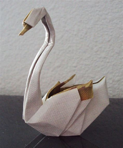 Swan Paper Folding - best 25 origami swan ideas on origami paper