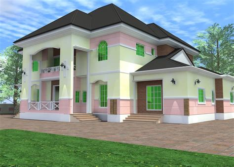 Residential Homes And Public Designs 6 Bedroom Duplex 6 Bedroom Duplex House Plans