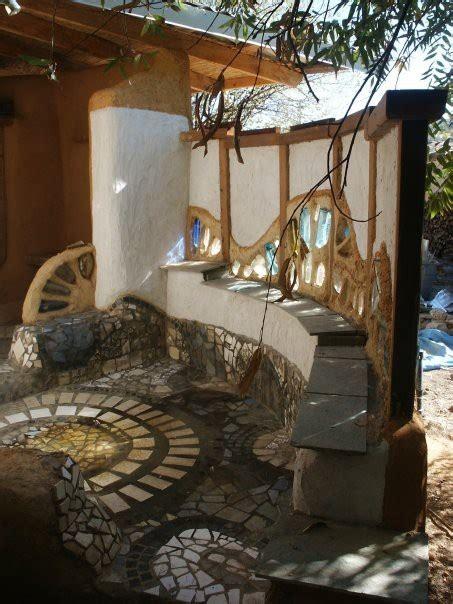 Building An Off Grid Bathroom earthbag and cob bath house