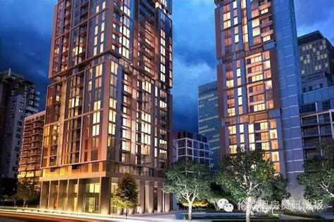 wardian london apartments west  east towers  architect