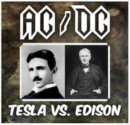 Edison Versus Tesla Tesla Vs Edison Quot Akım Savaşları Quot