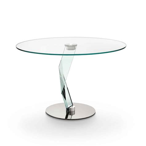 Glass Table Company by Bakkarat Glass Dining Table By Tonelli Klarity