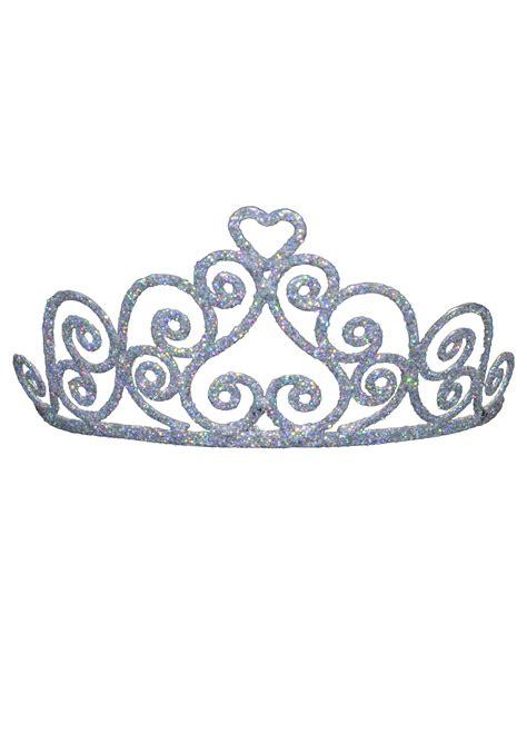 Setelan Annbebie I White Crown sparkly tiara black clipart