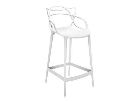 Kartell Bar Stool by Buy The Kartell Masters Bar Stool White At Nest Co Uk