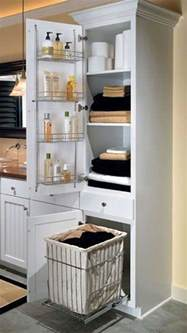 Pull Out Bathroom Storage Cool Pull Out Storage Ideas For Bathroom Homedesigninspired
