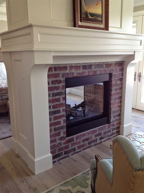Used Fireplace Mantels by Brick Fireplaces With White Surround Mantels Hearth And