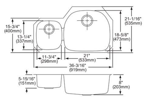 Undermount Sink Template by Elkay Stainless Steel Undermount Sink 35 65 Home Surplus