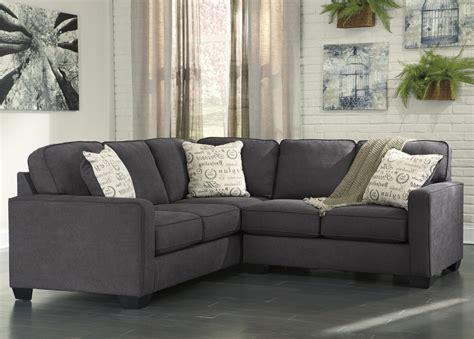 alenya sofa and loveseat signature design by ashley alenya charcoal 2 piece