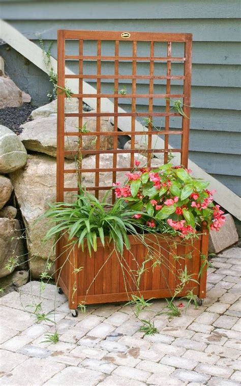 Trellis Planter Garden Screen by 18 Best Trellis Planter Box Images On Brick