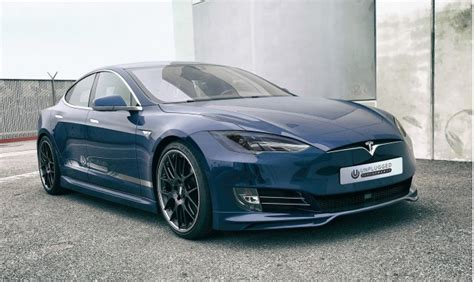 Who Makes A Tesla Model S Tesla Model S Upgrade Kit Makes Cars Look Like