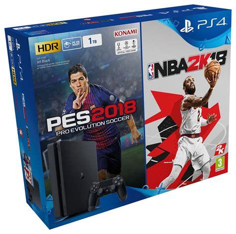 Ps4 Playstation 4 Nba 2k18 sony ps4 playstation 4 slim 1tb pes 2018 nba 2k18