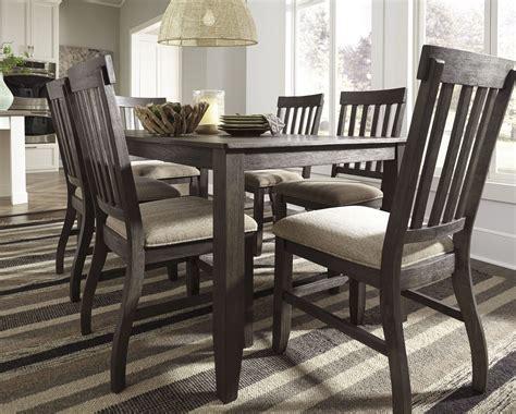 dresbar dining room table dresbar grayish brown rectangular dining room set from