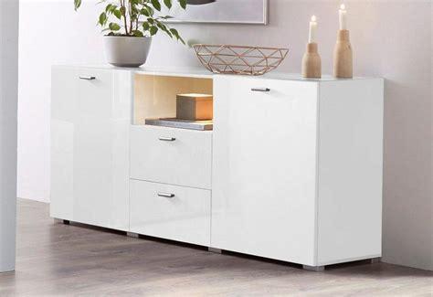 otto kommode weiß hochglanz sideboard breite 132 cm kaufen otto