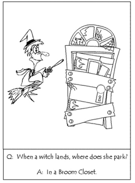 riddle what does a wear when it s coloring pages of riddles