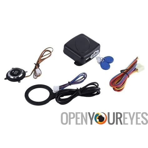 engine immobilizer for car automatic lock feature rfid engine lock push button engine start