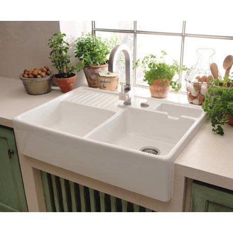villeroy boch butler   bowl kitchen sink white