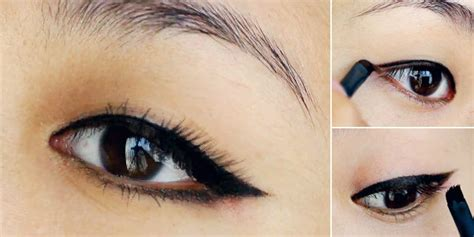 tutorial memakai eyeliner gel wardah body and mind 9 tutorial makeup favorit vemale tutorial