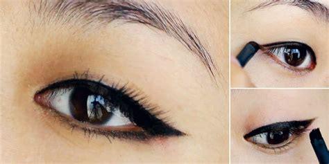 tutorial eyeliner untuk mata besar tutorial eyeliner gel untuk pemula kumpulan artikel