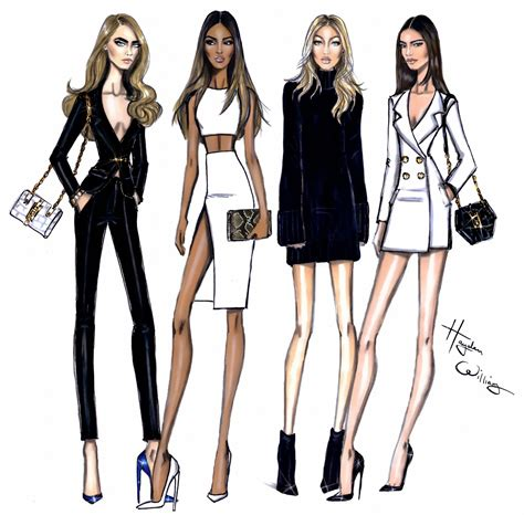 fashion illustration model hayden williams fashion illustrations model behaviour