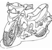 Motorcycle Coloring Pages 21  Kids