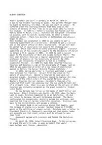 Albert Einstein Essay by Another Albert Einstein 4 Essay