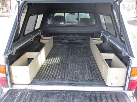truck bed storage truck bed storage tacoma sleeping platform carpet kit