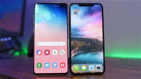 galaxy s10 vs iphone xs max review