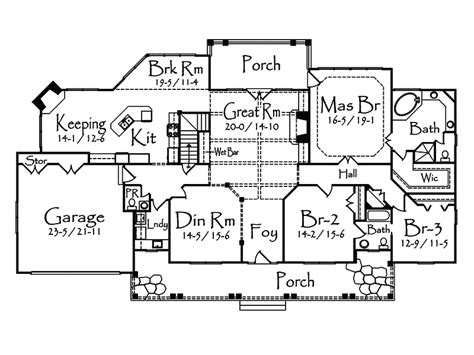 rustic country home floor plans damarco rustic country home plan 082d 0019 house plans