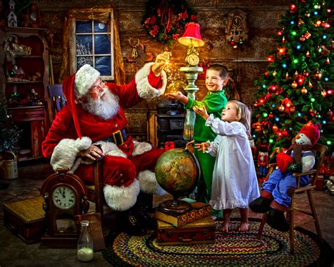 santa s magic jigsaw puzzle puzzlewarehouse com