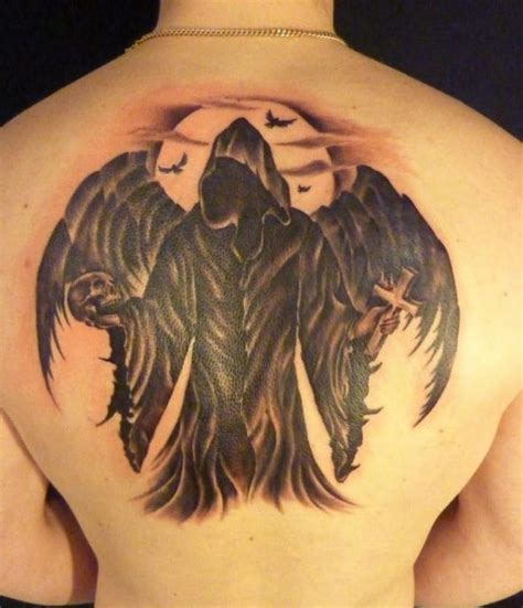 angel of death tattoo designs 30 best of images on