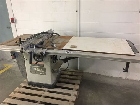 delta industrial table saw delta industrial table saw
