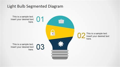 light bulb powerpoint template flat light bulb powerpoint template slidemodel