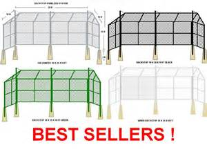 Portable Backyard Batting Cages Backstops Outfield Fencing Batting Cages Baseball