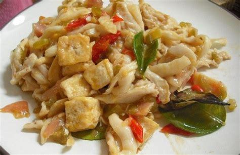 resep   memasak tumis tahu  jamur  isitimewa