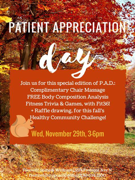 patient appreciation day  fsw fremont seattle