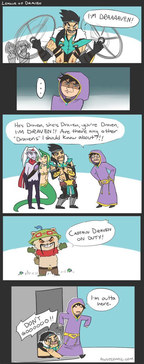 League Of Draven Meme - league of draven comic
