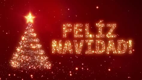 feliz navidad christmas background  stock footage video  royalty