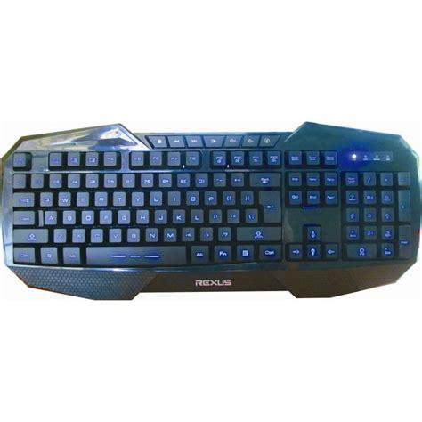 Keyboard Rexus rexus k1 gaming keyboard hitam alienwareindonesia