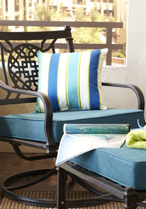 don t settle for the rocking chair don t settle for boring outdoor pillows when you could
