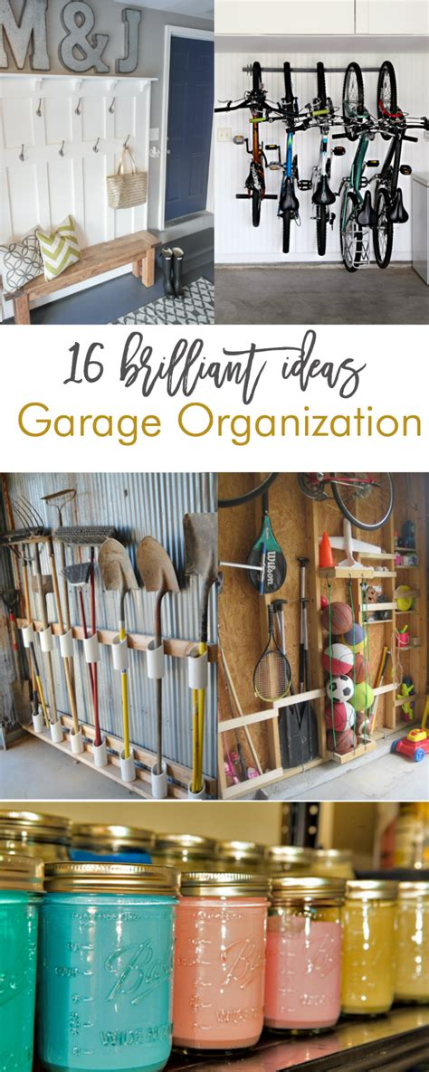 pictures diy ideas for organizing your shop 16 brilliant diy garage organization ideas