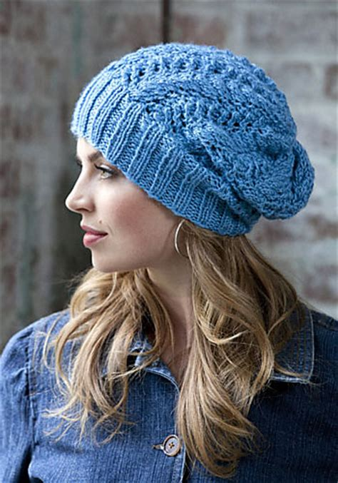 slouchy beanie knitting pattern slouchy beanie knitting patterns in the loop knitting